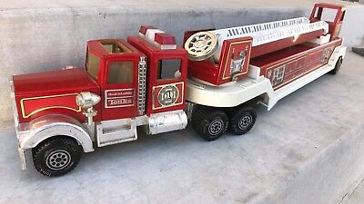 Vintage Tonka Fire Truck Hook and Ladder