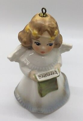 Goebel ANNUAL ANGEL BELL ORNAMENT 1988 Charlot Byj Christmas Pageant Germany