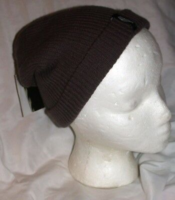 a221d370970 New VANS Off The Wall Gray Mens Slouch Beanie Ski Cap NWT Skate Mismoedig