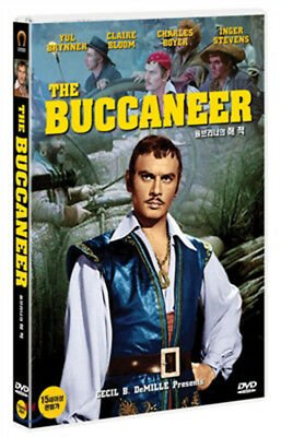 The Buccaneer - Anthony Quinn, Yul Brynner (1958) - DVD new