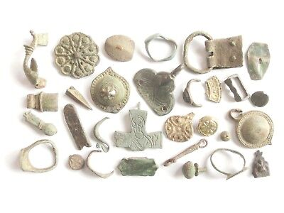 Lot of Misc. Ancient Bronze / Lead Artifacts $@$***