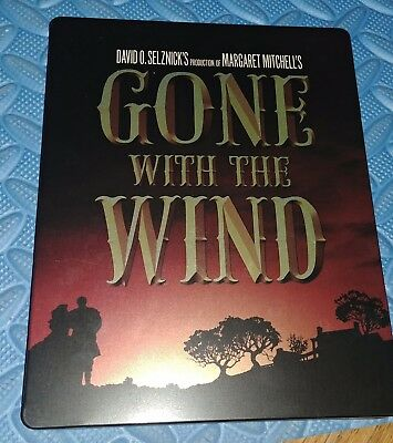 Gone with the wind Canadian) steel book cover
