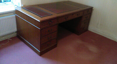 Large  Vintage  Office  Desk