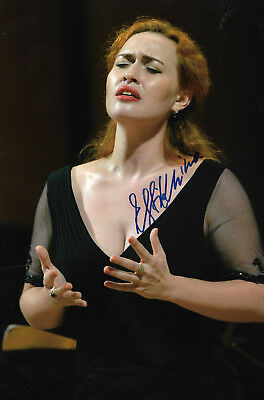 Music Good Michelle Deyoung Opera Signed 8x12 Inch Photo Autograph