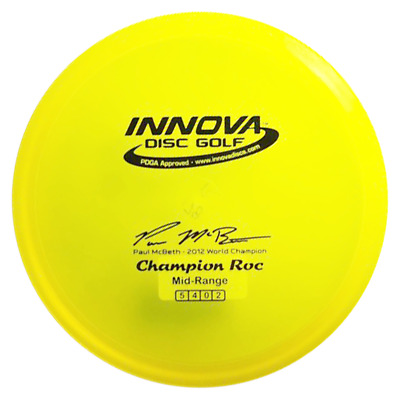 Collector - Paul McBeth LE Prototype Roc3 - Champion Plastic