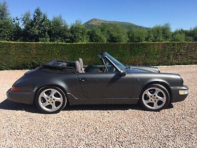 Porsche 964 carrera 911 cabriolet **1993 last production year***low miles 57,000