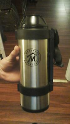NEW...Thermos Marlboro Country Store Stainless Steel Vacuum Bottle, 1 Liter