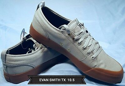48f0ba0cd43d9a Men's Dc Shoes Evan Smith Tx Adys300275 Gray/Gum Skateboarding Shoes 10.5