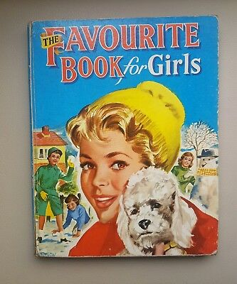 The Favourite Book For Girls (children's annual)