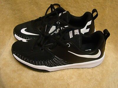 f4fb053f523a90 Nike Team Hustle D7 Low (GS) Youth Boys Basketball Shoes 834318 001 Black