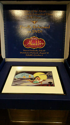 Aladdin 2004 Special Edition Lithograph Disney   182 Of 900 Made Htf Coa New