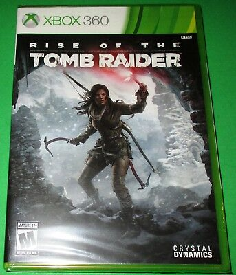 Rise of the Tomb Raider Microsoft Xbox 360 *New! *Sealed! *Free Shipping!