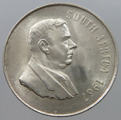 SOUTH AFRICA 1 RAND 1967   #pq 147
