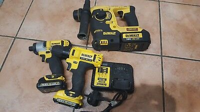 Dewalt Tool Set - Dch253 / Dcf815 / Dcd710 / 2 Batteries & Charger