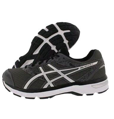 30c8ccc82543 ASICS GEL-EXCITE 4 (4E) T6F0N-9793 Carbon Silver Black Running Shoes ...