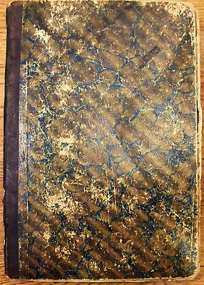 Antique Victorian 46pg Loaded Scrapbook Fabulous Images Trade Cards Cutouts 13x9