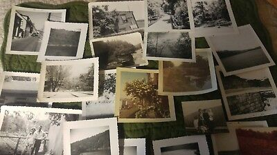 VINTAGE SCENERY PHOTOS 60s WILL'S CREEK GEORGEs ARM CUMBERLAND MD