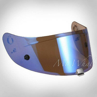 HJC HJ-20M Blue Pinlock Ready Shield Visor FG-17 IS-17 FG-ST RPHA ST R-PHA ST