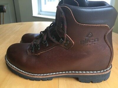 afd65c7208e ALICO SUMMIT MEN'S Leather Hiking Boots, Size 11 M, Fits 11.5, Made in Italy