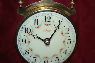 Kundo Quartz  Dome Mantle Spinning Clock  Made in West Germany