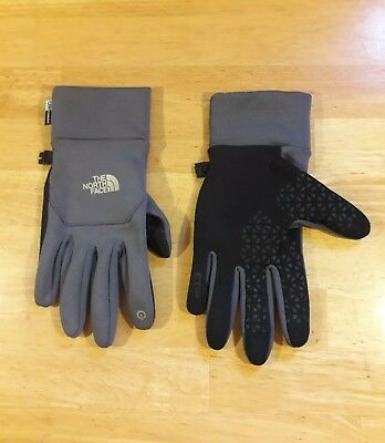 Nwot The North Face Womens/mens Etip Ur Powered Gray Glove Sz M. Hype Beast