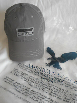 Nwt American Eagle Outfitters Aeo Reflective Strapback Baseball Hat Gray 13a778067738
