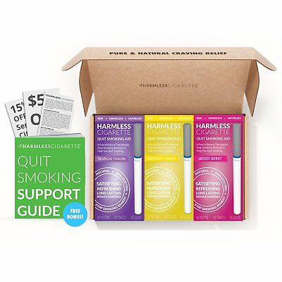 BEST VALUE 4 Week Quit Kit / Stop Smoking Aid / Inc. FREE Quit Support Guide.