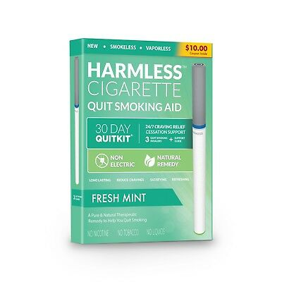 Natural Quit Smoking Aid / Maximum Craving Relief / Harmless Cigarette (3 Set)