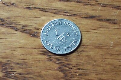 L-44 Jackson County Illinois Sales Tax Token