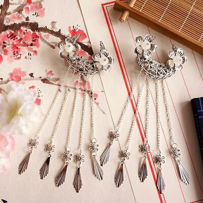 Sweet Metal Tassel Hair Clip Chinese Style Classical Ancient Costume Headdress