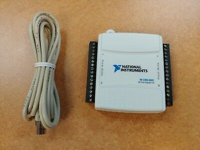 National Instruments USB-6501 Digital I/O Programmable Device 24-CH Genuine