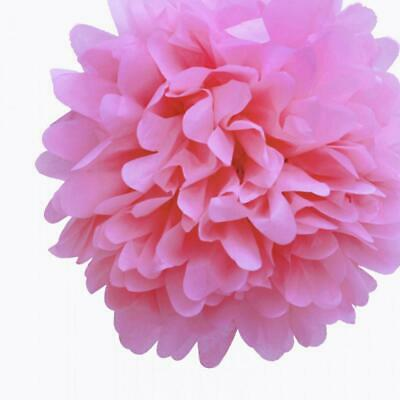 20'' Pink Passion Tissue Paper Pom Poms Flowers Balls, Decorations (4 Pack)