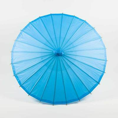 """20"""" Paper Parasol - Turquoise (10 PACK)"""