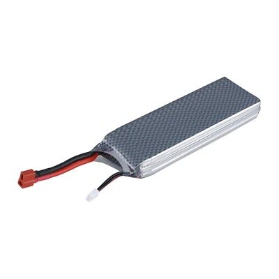 4000mAh 2S 7.4V 30C Lipo Battery Pack Dean Plug for RC Helicopter Boat A5H2