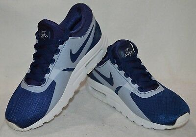 Nike Air Max Zero Essential (GS) Midnight Navy Boy's Sneakers-Assorted Sizes NWB