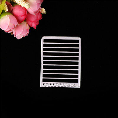 Brief Greeting Cards Book Style Metal Cutting Dies Scrapbook Paper Cards Craft X