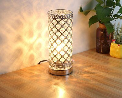 Table Lamp,Petronius Crystal Table Lamps,Decorative Bedside Nightstand Desk Lamp