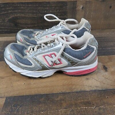 the latest 48254 a8c4f NEW BALANCE 660 Women's Size 10D ABzorb Sole Gray & Coral Athletic Shoes //