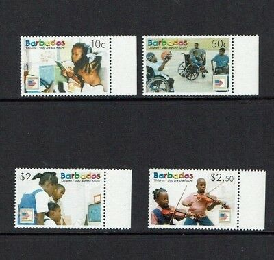 Barbados: 2006 Children are the Future, MNH set