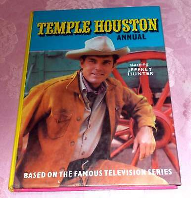 Temple Houston Annual Starring Jeffrey Hunter TV Series HC 1965/66