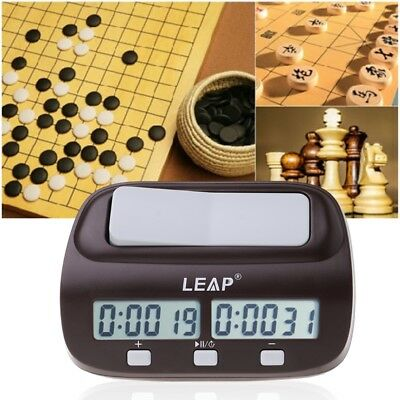 High-quality Digital Chess Clock Contemporary Chess I-go Count Up Down Alarm New