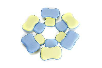 LTWHOME Dual Sided Microfiber 2 in 1 Washing Up Pad Scrubbers and Sponges
