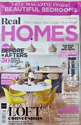 Real Homes Magazine May 2018 With Free Beautiful Bedrooms Magazine ~ New ~