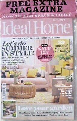 Ideal Home Magazine June 2018 With Free How To Add Space & Light Magazine ~ New