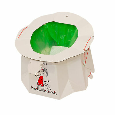 Hippychick Tron Disposable Travel Potty - Brown