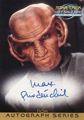 Star Trek Deep Space Nine DS9 MftF Max Grodenchik / Rom A17 Auto Card