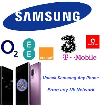 FACTORY UNLOCK CODE SERVICE FOR SAMSUNG UK AND iRELAND  ALL MODEL PUK CODE