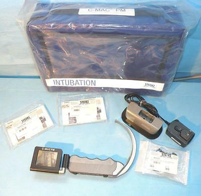 STORZ Pocket Monitor C-MAC Anesthesia Doerges Difficult Airway Laryngoscope