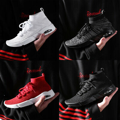 Men's Fashion Sneakers  Sports Athletic Breathable Running Gym Shoes Outdoor