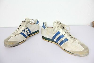 VINTAGE ADIDAS ROM Used Sneaker 70 er Jahre Retro Schuhe